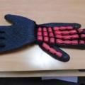 pokryty; dzianiny; rękawiczki; guma, kauczuk; rękawice ochronne