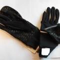 z włókna syntetycznego; dzianiny; rękawiczki; z mankietami; nylon;…