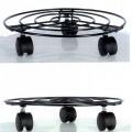 av metall; av oädel metall; tråd; med hjul; bottenplatta