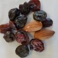 blandinger; tørret; mandler; rosiner; lakrids; blandinger af…