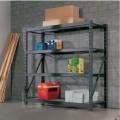 of metal; with metal frames; furniture; of steel; shelves