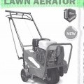by petrol engine; machinery; garden tools