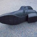 outer soles; covering the ankle; boots; rubber