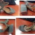 parte superior, calzado; sandalia; para mujeres; que no cubra…
