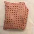av textilmaterial; polyester; på ena sidan; utan tillslutning;…