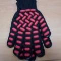 bawełna; dzianiny; z poliestru; rękawiczki; rękawice ochronne