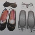 przyszwy, obuwie; podeszwy zewnętrzne; z materiałów tekstylnych;…