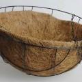 für die dekoration; aus unedlem metall; korb; aus kokos; statuette,…