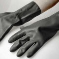 aus kautschuk; handschuh; synthetischer kautschuk; vulkanisiert