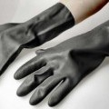 aus kautschuk; handschuh; synthetischer kautschuk; vulkanisiert;…