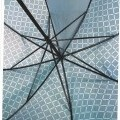 woven fabrics; with handle; with framework; umbrellas