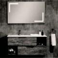in legno; mobili; mobile; legno; lavabi