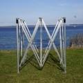 af aluminium; aluminium; rammer; konstruktioner