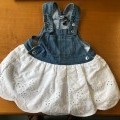 di tessuto; di cotone; senza maniche; abiti interi da donna;…