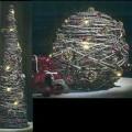 aus metall; für die dekoration; led; akku-betrieb; kegel; zierartikel;…