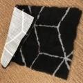 van synthetische vezel; van polyester; opgemaakt voor verk. in…