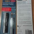 aluminium; holders; crayons
