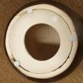 zitmeubelen; keramiek; voor gebruik binnenshuis; in ronde vorm