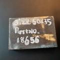 metalen platen; met buitenlaag