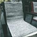 av textilmaterial; med fåll; vävd; rektangulär; av polyester;…