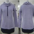 of cotton; with long sleeves; with collar; pullovers; for women;…