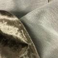 of polyester; knitted; velvet, fabrics; with piles, fabrics