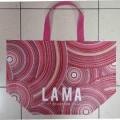 z zapięciem na suwak; torby; włókniny; laminowany; torby na zakupy