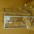 met metalen frames; opgemaakt voor verk. in het klein; van acryl;…