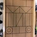 polyester; av trä; enfärgad; med tryckt mönster; i detaljhandelsförpackning;…