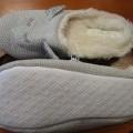 zvršok, obuv; z textilného materiálu; papuče; domáca obuv; s…
