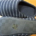 zvršok, obuv; z textilného materiálu; papuče; domáca obuv; pleteniny;…
