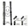 en forma cilindrica; de acero; tubo; acero; tuberia y tubo; para…