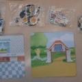 bedruckt; magnet; aus papier; für kinder; spielzeug; zugeschnitten