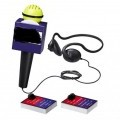 electronic; games; in boxes; microphones; headgear