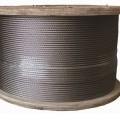 de metal; de acero; de acero inoxidable; cable; no revestido