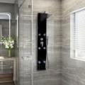 massagegerät; dusche; wasser; aus glas