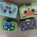 z plastu; bedny, krabice, krabičky; pro děti; pro použití v domácnosti;…