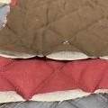 di materia tessile; poliesteri; oggetti letterecci; capitonne
