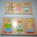 bedruckt; aus holz; aus papier; für kinder; spielzeug; puzzle;…