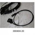 elektrisch; kabel; für kabel; anschluss; isolierte elektrische…