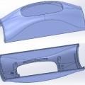 z plastu; lisované (stlačené); vyrobeno do tvaru; formováno lisováním;…