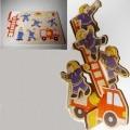 bedruckt; aus holz; für kinder; spielzeug; puzzle