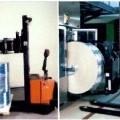 elektrisk; maskin; arm; truck; självgående
