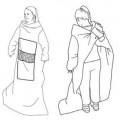 av textilmaterial; vävt tyg; polyester; bomull; med ficka; med…